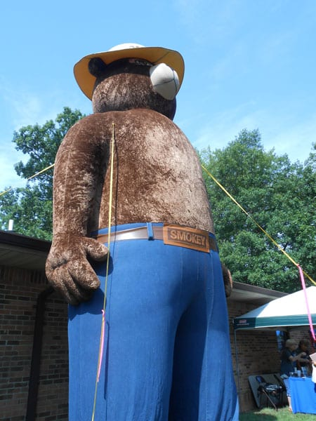 Smokey the Bear Yanceyville